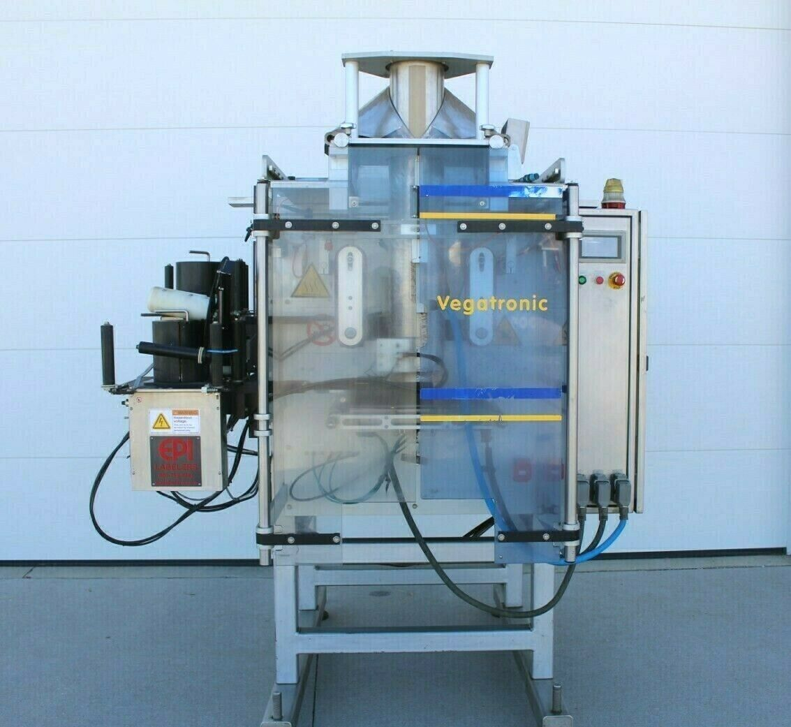 Ilapak Vegatronic 1000 VFFS machine- Used