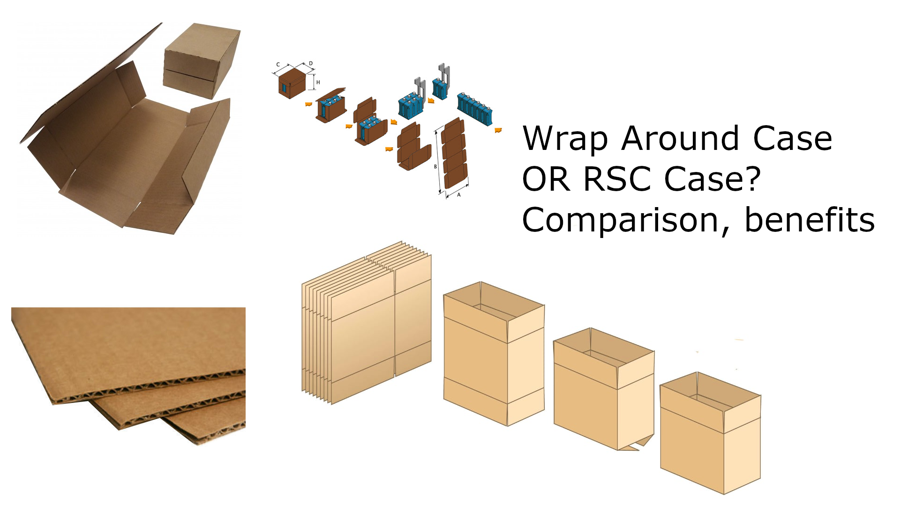 RSC Case OR Wrap Around Case? Selection criteria and automation options.